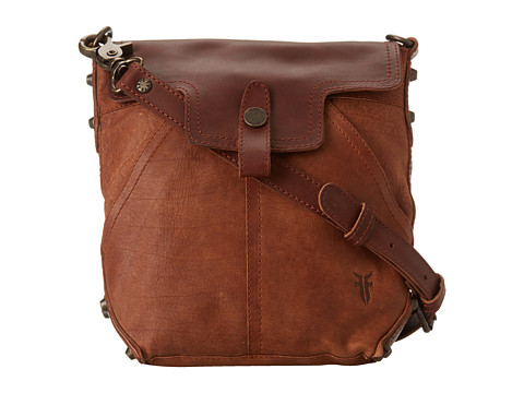 Frye - Tracy Crossbody (Cognac Washed Buffalo) Handbags