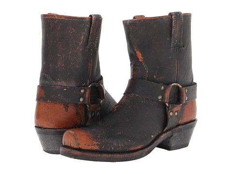 Frye - Harness 8R (Whiskey Painted Stonewash) Women's Pull-on Boots