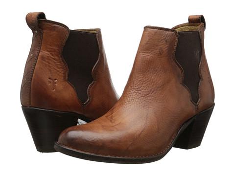 Frye - Jackie Gore Stitching Horse (Saddle Dakota) Cowboy Boots