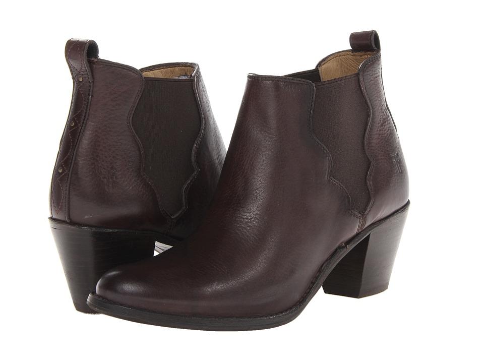 Frye - Jackie Gore Stitching Horse (Walnut Dakota) Cowboy Boots