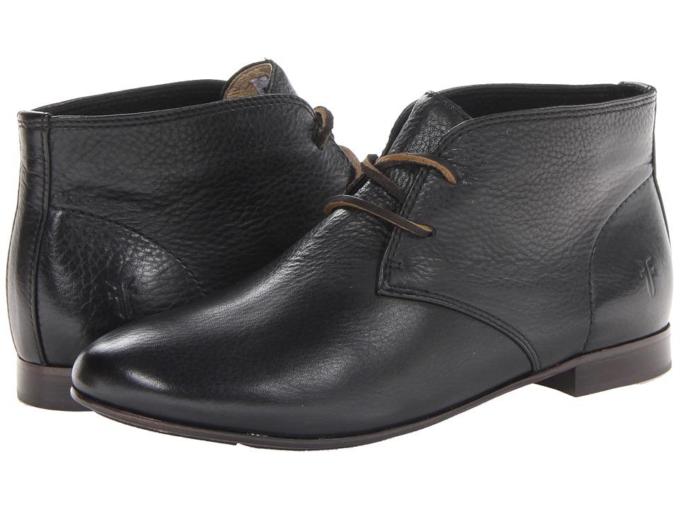 Frye - Jillian Chukka (Black Soft Vintage Leather) Women's Lace-up Boots