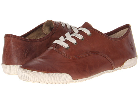 Frye - Melanie Low (Cognac Antique Soft Vintage) Women's Lace up casual Shoes
