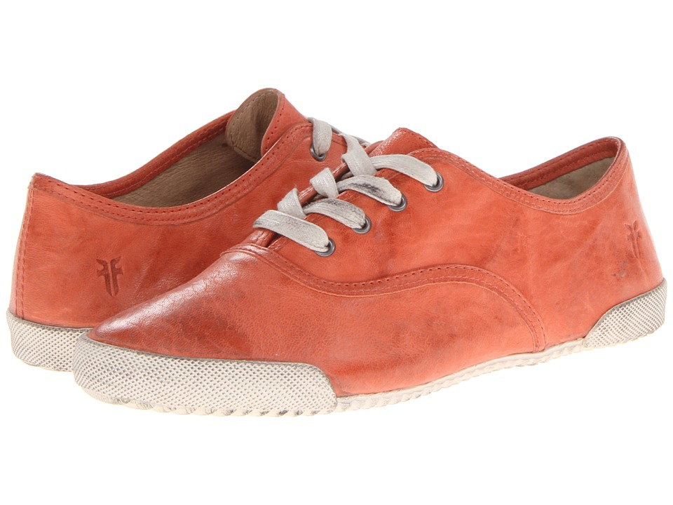 Frye - Melanie Low (Coral Antique Soft Vintage) Women's Lace up casual Shoes