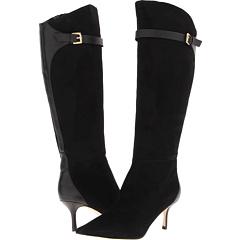 Ivanka Trump Inez (Black Sierra Suede) Footwear