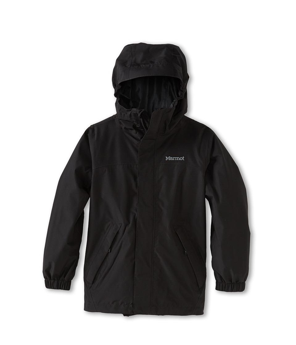 Marmot Kids - Southridge Jacket (Little Kids/Big Kids) (Black) Boy's Coat