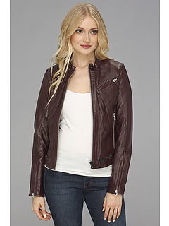 SALE! $269.99 - Save $330 on G Star Norton Leather Chopper Jacket (Maroon) Apparel - 55.00% OFF $600.00