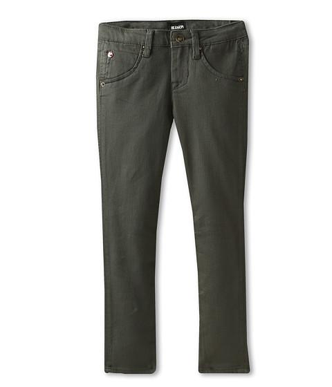 Hudson Kids - Collin Skinny With Flap Back Pocket (Little Kids) (Hunter Green) Girl's Jeans
