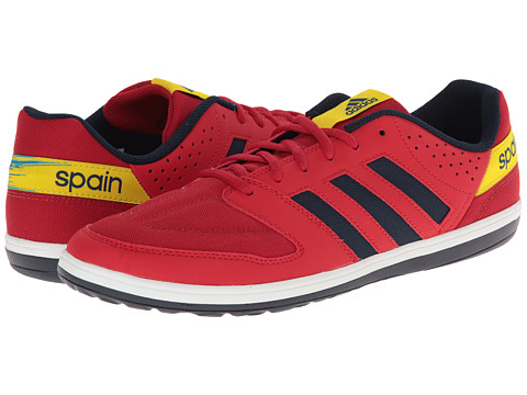 adidas - Freefootball Janeirinha Sala (University Red/Collegiate Navy/Vivid Yellow) Men's Soccer Shoes