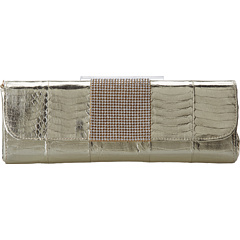 SALE! $216.99 - Save $178 on Badgley Mischka Dara Clutch (Gold) Bags and Luggage - 45.07% OFF $395.00