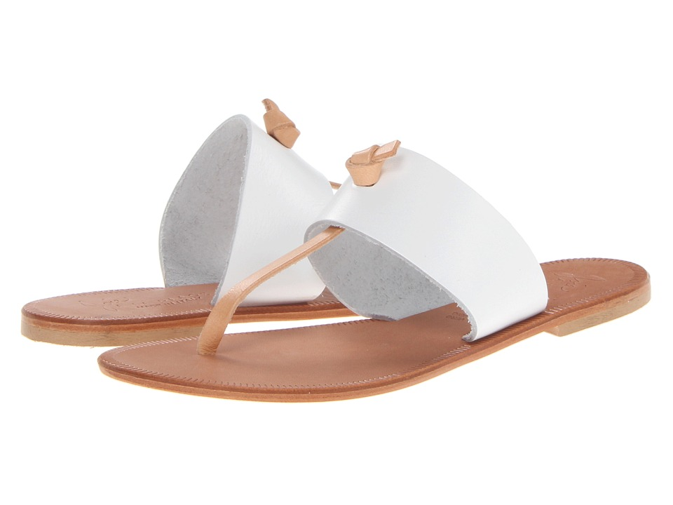 Joie - Nice (White/Natural) Women's Toe Open Shoes