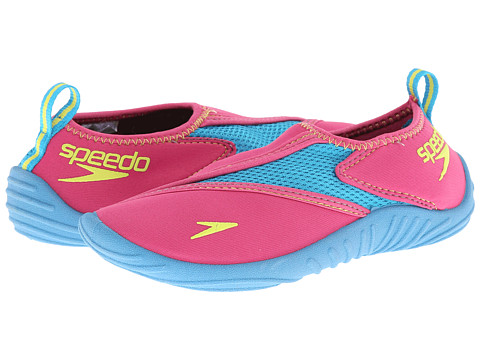 Speedo Kids - Surfwalker Pro (Little Kid/Big Kid) (Fuschia/Hawaiian Ocean) Girls Shoes