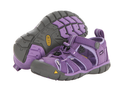 Keen Kids - Seacamp II CNX (Toddler/Little Kid) (Purple Heart/Bougainvillea) Girls Shoes