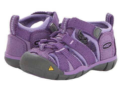 Keen Kids - Seacamp II CNX (Toddler) (Purple Heart/Bougainvillea) Girls Shoes