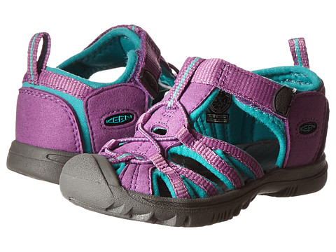 Keen Kids - Whisper (Toddler) (Dewberry/Baltic) Girls Shoes