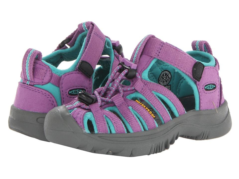 Keen Kids - Whisper (Toddler/Little Kid) (Dewberry/Baltic) Girls Shoes