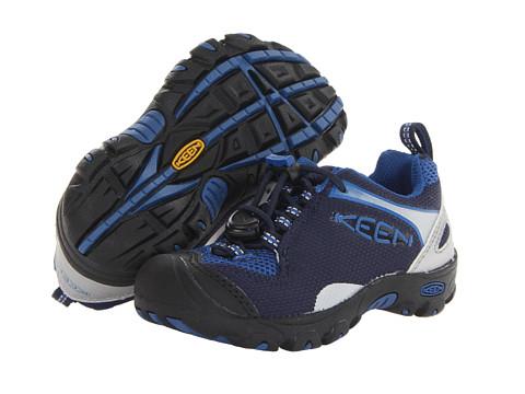 Keen Kids - Jamison (Toddler/Little Kid) (Black Iris/Olympian Blue) Boys Shoes