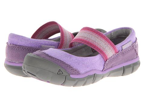 Keen Kids - Rivington MJ CNX (Toddler/Little Kid) (Purple Heart/Bougainvillea) Girls Shoes