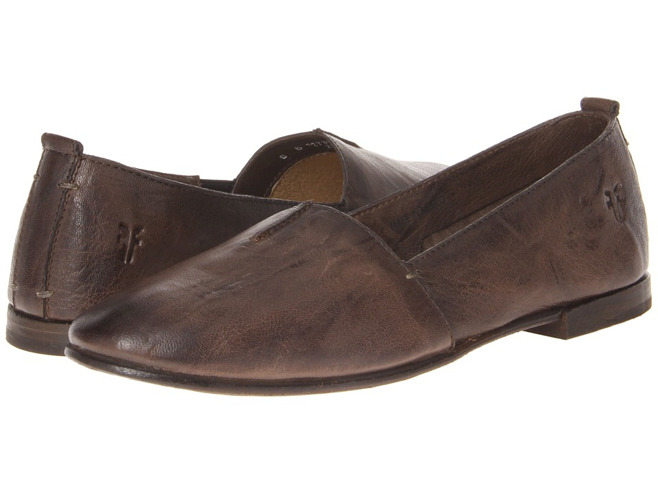 Frye - Stacey A-Line (Taupe Antique Soft Vintage) Women's Flat Shoes