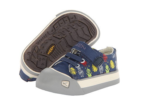 Keen Kids - Coronado Print (Toddler) (Ensign Blue Robots) Boys Shoes