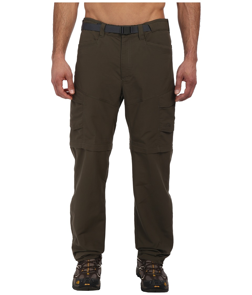 The North Face - Paramount Peak II Convertible Pant (New Taupe Green) Men's Casual Pants