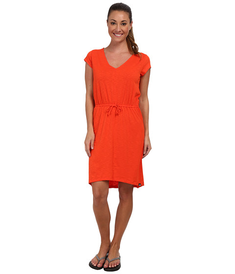 The North Face - Lisa Dress (Fire Brick Red) Women's Dress