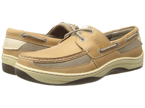 Mens, Tarpon 2 Eye Boat Shoes Linen 9 W Sperry Top-Sider