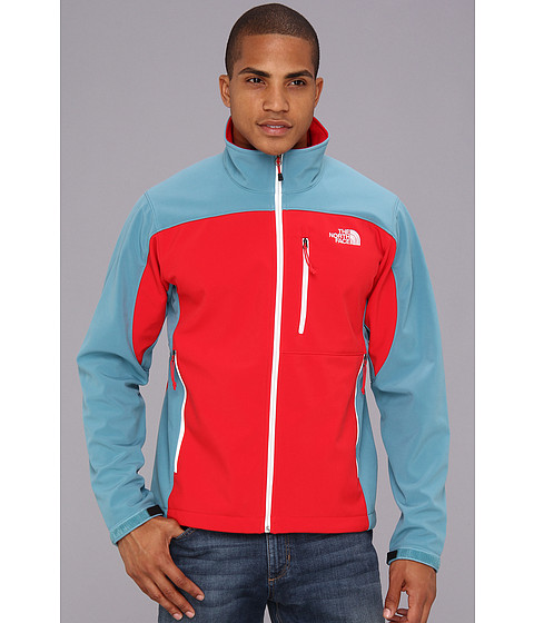 The North Face Apex Bionic Jacket (TNF Red/Storm Blue) Men's Coat