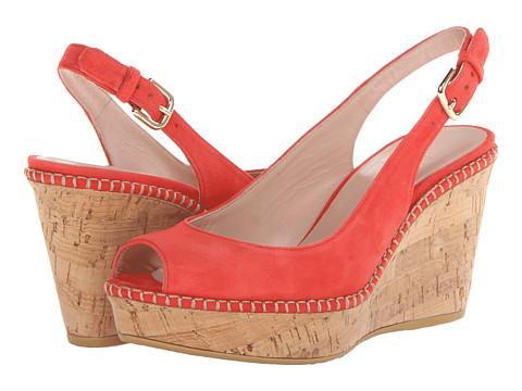 Stuart Weitzman - Jean (Pimento Suede) Women's Shoes