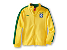 Nike Kids N98 CBF Authentic Track Jacket (Varsity Maize/Pine Green/Pine Green)
