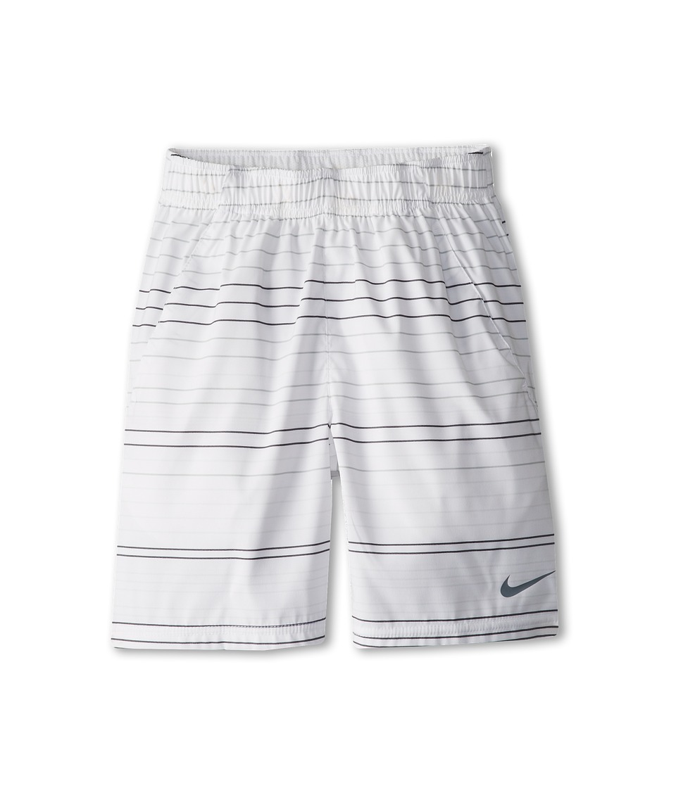 Nike Kids - Gladiator 10 SW Short (Little Kids/Big Kids) (White/Light Base Grey/Cool Grey) Boy