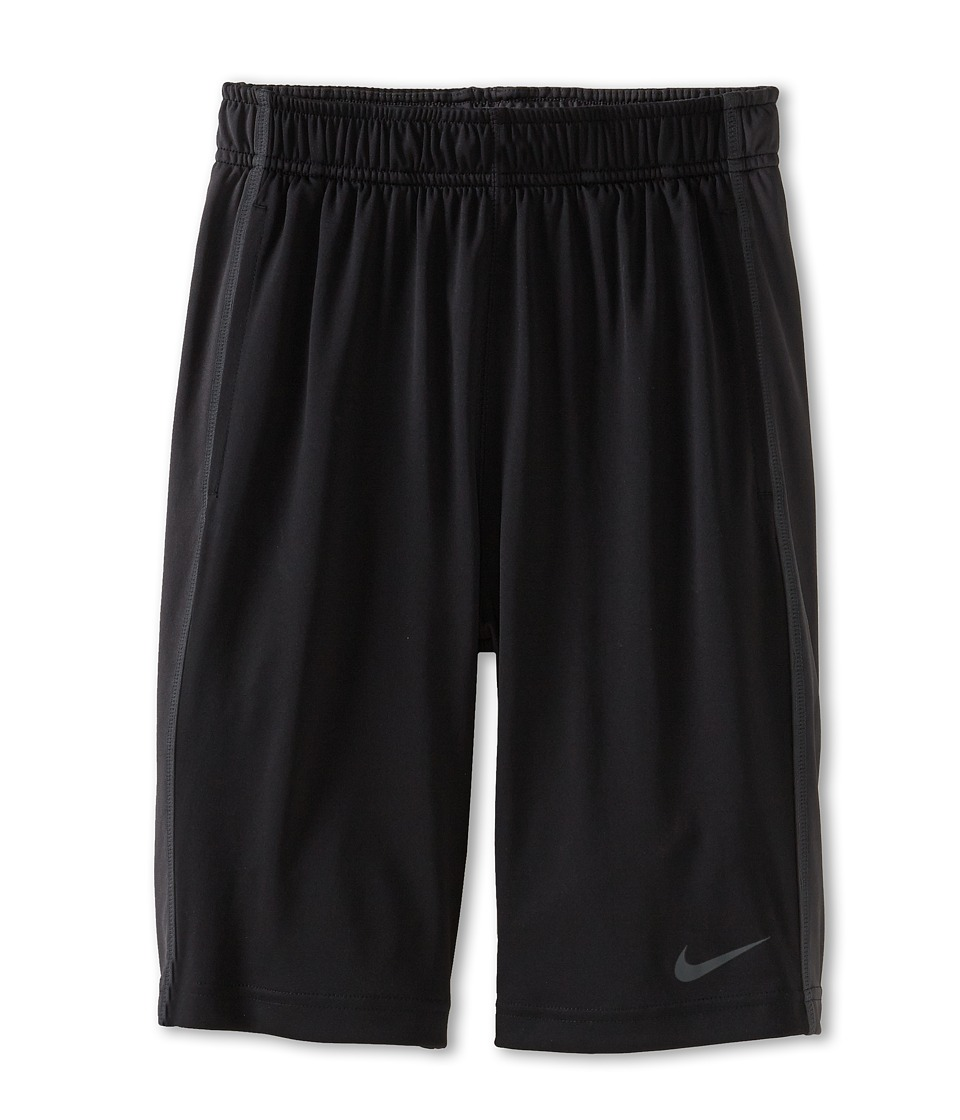 Nike Kids - Fly Short (Little Kids/Big Kids) (Black/Anthracite/Anthracite) Boy's Shorts