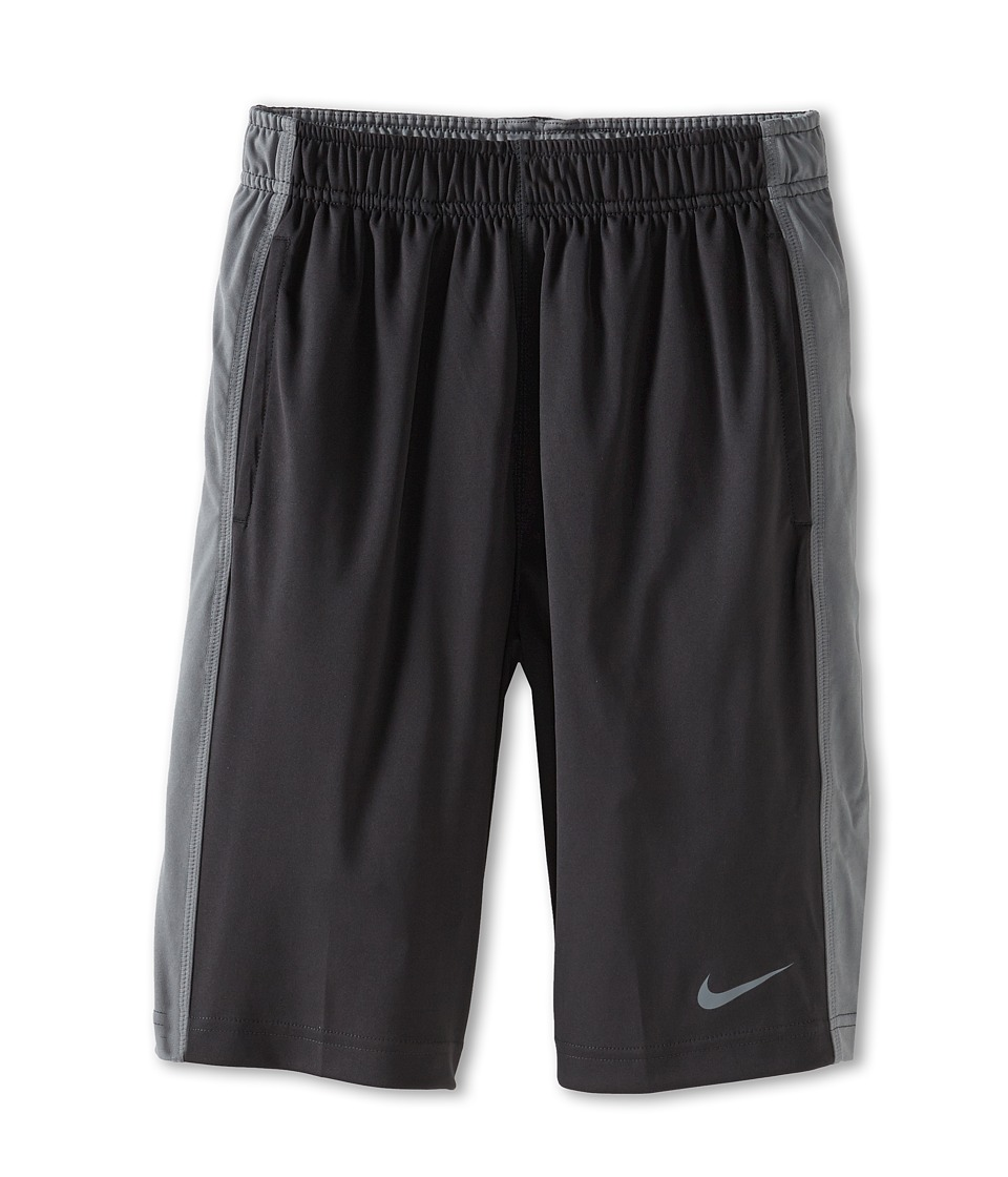 Nike Kids - Fly Short (Little Kids/Big Kids) (Anthracite/Cool Grey/Cool Grey) Boy's Shorts
