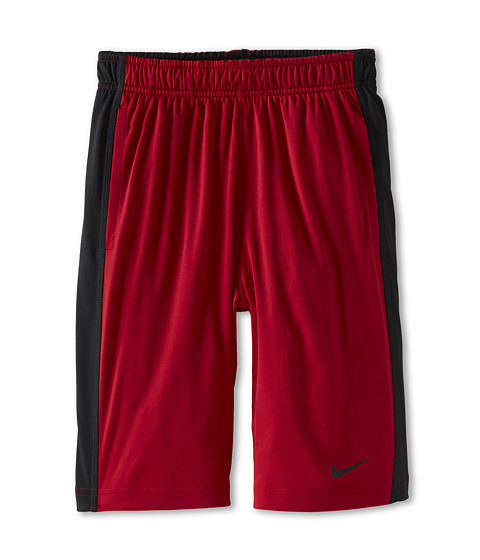 Nike Kids - Fly Short (Little Kids/Big Kids) (Gym Red/Black/Black) Boy