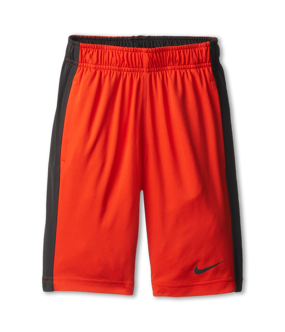 Nike Kids - Fly Short (Little Kids/Big Kids) (Team Orange/Anthracite/Anthracite) Boy