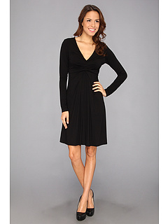 SALE! $71.56 - Save $36 on Karen Kane Elizabeth Black Dress (Black) Apparel - 33.74% OFF $108.00