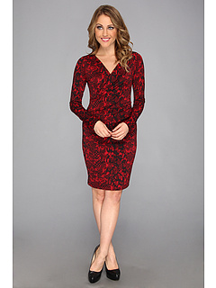 SALE! $65.28 - Save $33 on Karen Kane Crimson Python Wrap Dress (R B) Apparel - 33.39% OFF $98.00