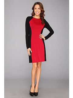 SALE! $36.99 - Save $81 on Karen Kane Monte Carlo Contrast Dress (R B) Apparel - 68.65% OFF $118.00