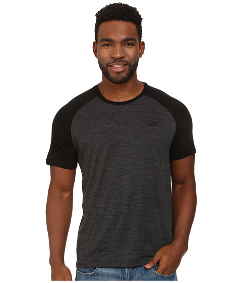 Icebreaker - Hopper Lite S/S (Black) Men's T Shirt