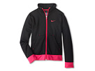 Nike Kids Performance Knit Jacket (Little Kids/Big Kids) (Black/Vivid Pink/Vivid Pink)