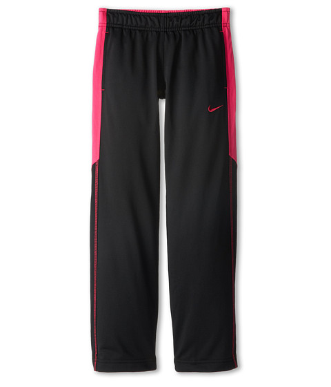 Nike Kids - Performance Knit Pant (Little Kids/Big Kids) (Black/Vivid Pink/Vivid Pink) Girl