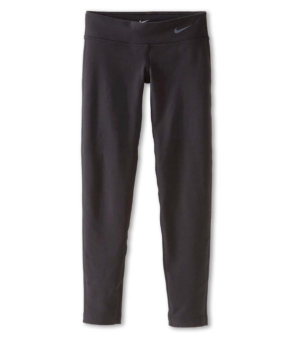Nike Kids - Legend Tight Pant (Little Kids/Big Kids) (Black/Black/Cool Grey) Girl