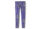 Nike Kids Run Heritage Printed Tight (Little Kids/Big Kids) (Purple Venom/Reflective Silver) Girl's Casual Pants