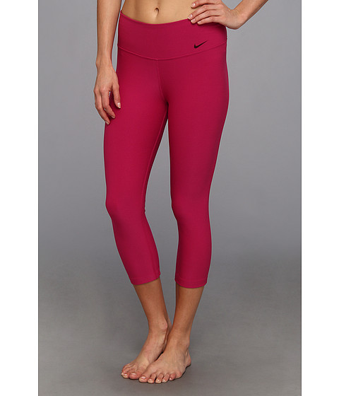 Nike - Legend 2.0 Tight Poly Capri (Bright Magenta/Cool Grey) Women's Capri