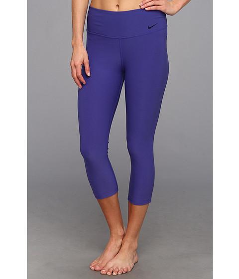 Nike - Legend 2.0 Tight Poly Capri (Deep Night/Cool Grey) Women