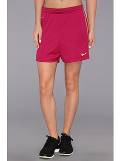 SALE! $16.99 - Save $8 on Nike Academy Knit Short (Bright Magenta Brigth Magenta Volt Volt) Apparel - 32.04% OFF $25.00