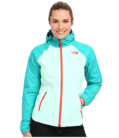 The North Face - Allabout Jacket (Beach Glass Green/Jaiden Green) Women's Jacket
