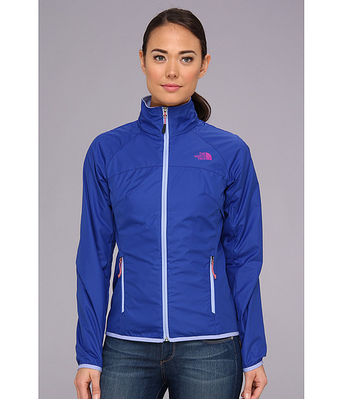 The North Face Flyweight Lined Jacket (Marker Blue/Lavendula Purple) Women's Coat