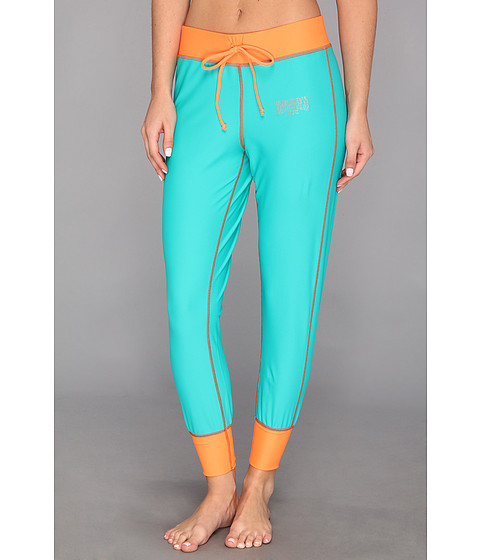 Ward's Boxing Club NYC - Superfly Sweat Pant (Match Maker Marine/On Orange) Women's Workout