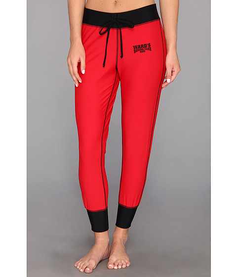 Ward's Boxing Club NYC - Superfly Sweat Pant (Round Red/Barn Burner Black) Women's Workout
