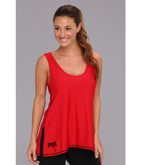 Ward's Boxing Club NYC - Weave Tank (Round Red/Barn Burner Black) Women's Sleeveless